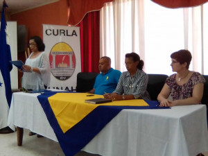 CURLA, Universidad William Jewel y Municipalidad de San Francisco, Atlántida, firman acuerdo institucional